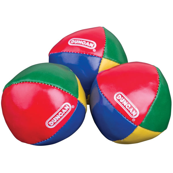 Pack of 3 Duncan Durable Bright-Color Vinyl Juggling Balls