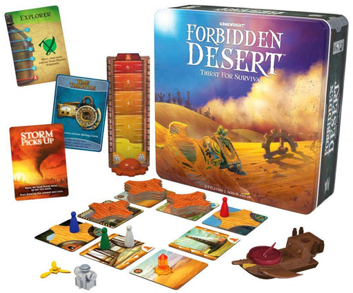 Forbidden Desert: Thirst for Survival - The Cooperative Strategy Board Game