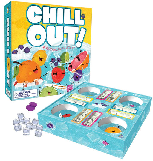 Chill Out! - A Refreshing Game of Dice and Ice