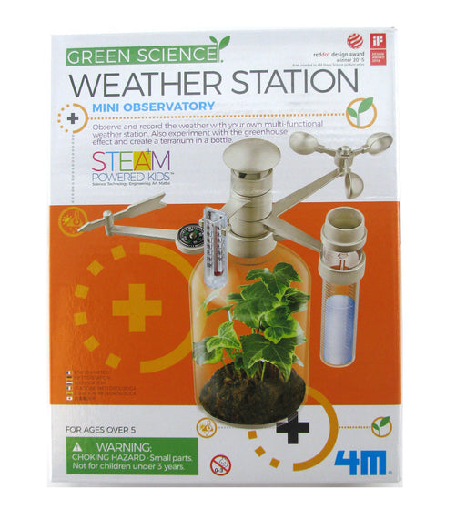 4M KidzLabs Green Science - Weather Station