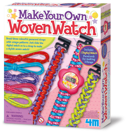 4M Make Your Own Paracord Woven Watch Bands