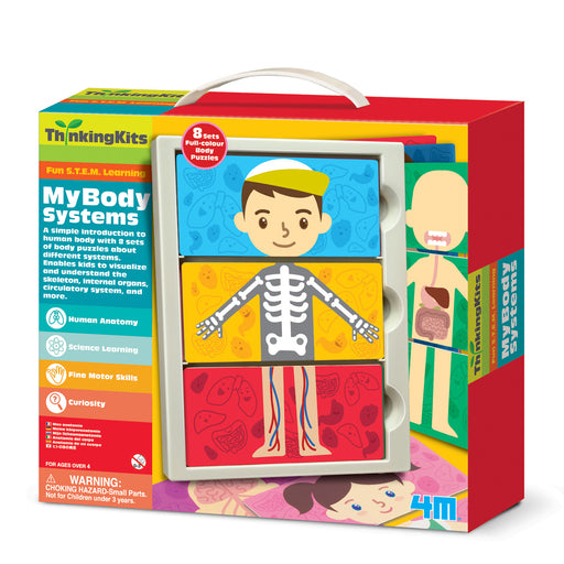 4M ThinkingKits STEM Learning Tool - My Body Anatomy Systems