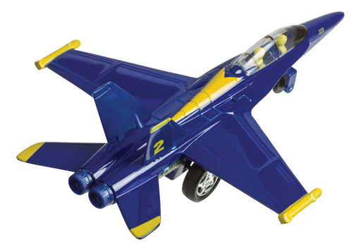 Playmaker X-Force Commander Die-Cast Metal F-18 Blue Angel Jet