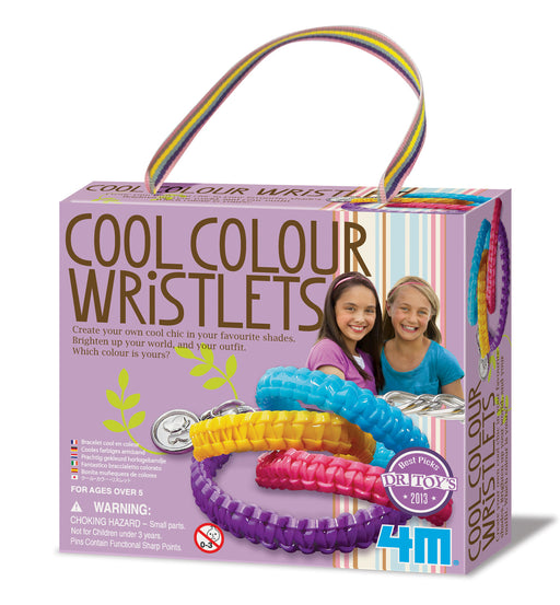 4M Create Your Own Cool Color Wristlets Craft Kit