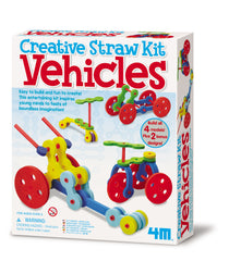 4M Creative Straw Activity Building Kit - Vehicles
