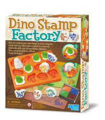 4M Make Your Own Stamps at Home - Dino Stamp Factory