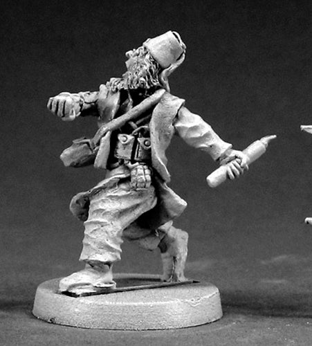 Reaper Miniatures Ned Lewinky, Mad Bomber #50019 Chronoscope D&D RPG Mini Figure