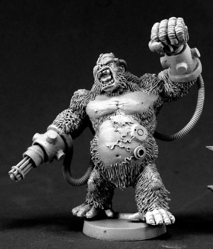 Reaper Miniatures Ape-X, Supervillian #50031 Chronoscope D&D RPG Mini Figure