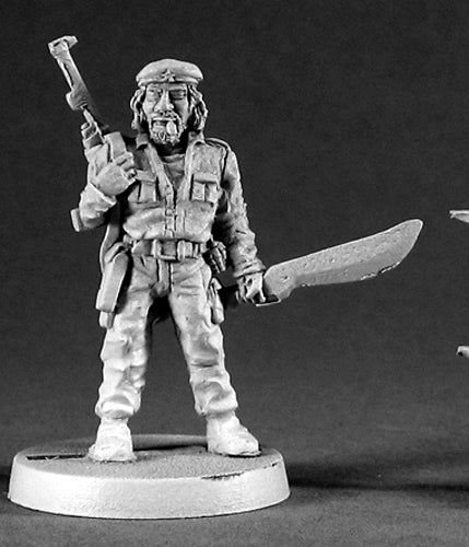 Reaper Miniatures Ernesto, Revolutionary #50043 Chronoscope RPG D&D Mini Figure