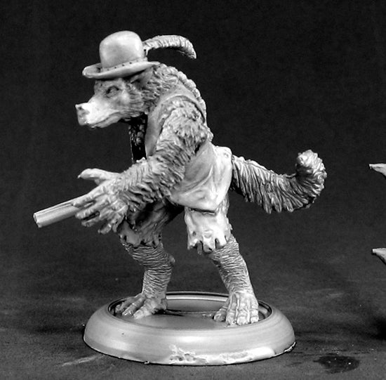 Reaper Miniatures Jesse Moonwalker Werewolf Tracker 50045 Chronoscope Metal Mini
