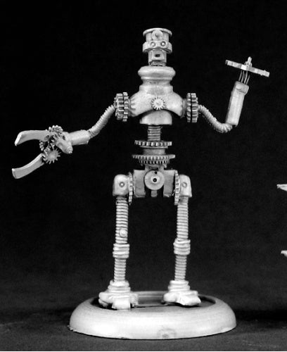 Reaper Miniatures Jeeves, Clockwork Robot #50063 Chronoscope D&D RPG Mini Figure