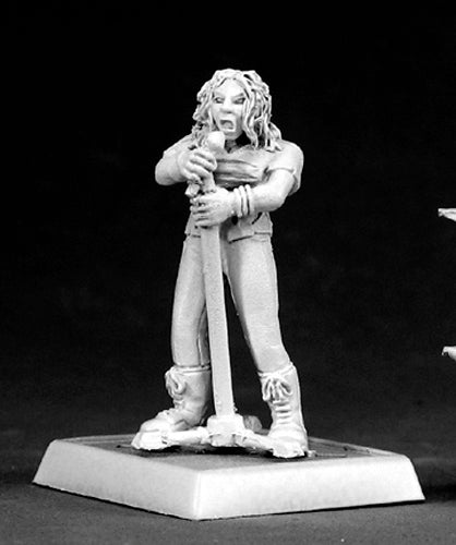 Reaper Miniatures Nancy, Punk Rock Girl #50067 Chronoscope D&D RPG Mini Figure