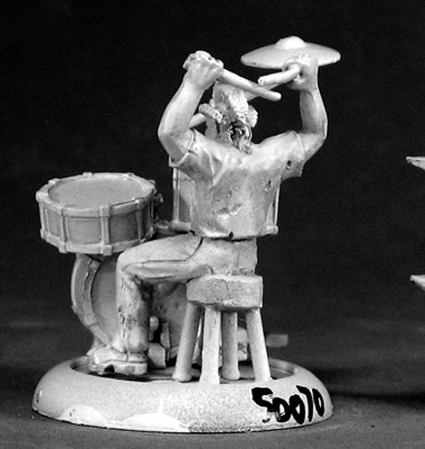 Reaper Miniatures Toad, Punk Rock Drummer #50070 Chronoscope D&D RPG Mini Figure