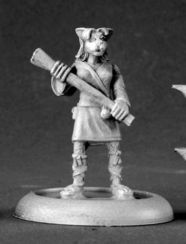 Reaper Miniatures Kyoko Silvers, Cat Girl #50095 Chronoscope D&D RPG Mini Figure