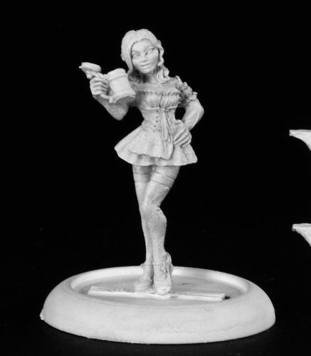 Reaper Miniatures Gretchen, Oktoberfest Fraulein #50118 Chronoscope Mini Figure