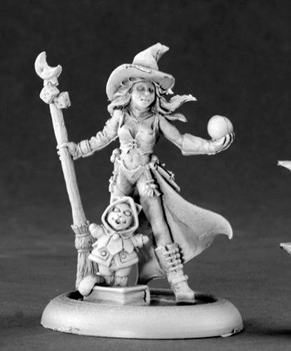 Reaper Miniatures Krissy, Modern Witch #50128 Chronoscope D&D RPG Mini Figure