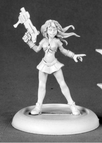 Reaper Miniatures Sugar, Anime Heroine #50176 Chronoscope D&D RPG Mini Figure