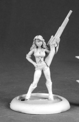 Reaper Miniatures Bobby Jo, Redneck Princess #50200 Chronoscope RPG Mini Figure