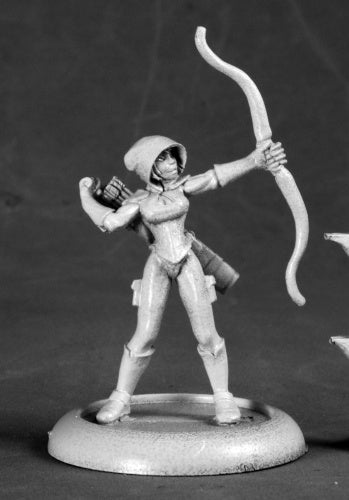 Reaper Miniatures Silver Marksman, Super Heroine #50215 Chronoscope Mini Figure