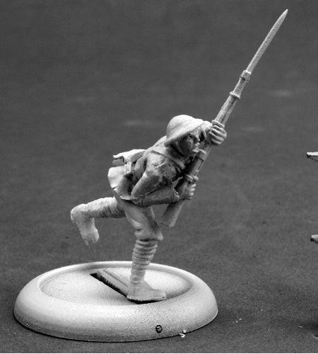 Reaper Miniatures World War I Doughboy #50271 Chronoscope D&D RPG Mini Figure