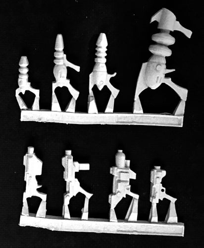 Reaper Miniatures Retro Sci-Fi Weapons (8) #50332 Chronoscope Unpainted Metal