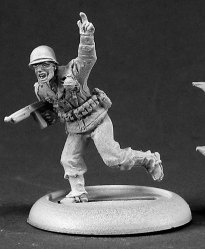 Reaper Miniatures NCO Wally Clark #50335 Chronoscope D&D Unpainted Metal Figure