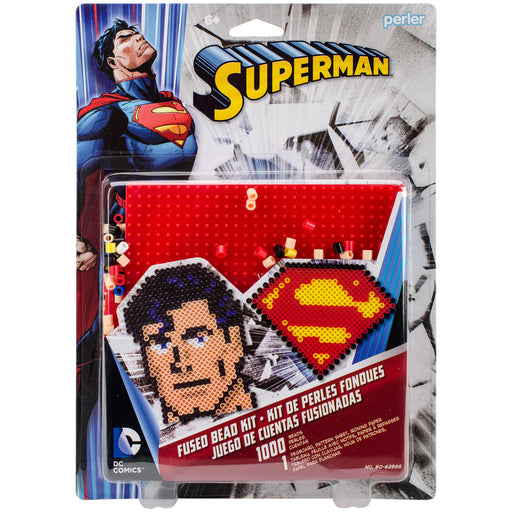 Perler Fused Bead Kit - Superman Edition #80-62985 1000 Beads Craft Fuse Beading