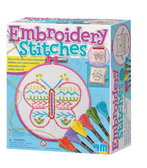 4M Easy To Do and Learn - Embroidery Stitches Sewing Kit