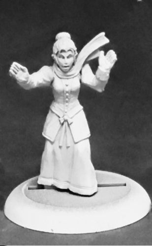 Reaper Miniatures Witch Hunter (female) #59042 Savage Worlds Unpainted Figure