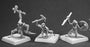 Reaper Miniatures Charau-Ka Warriors (3) #60093 Pathfinder Unpainted RPG Figure