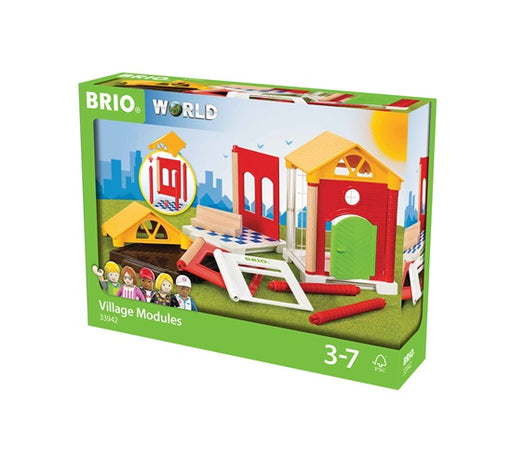 BRIO 14 Piece Village Modules Building Expansion Pack