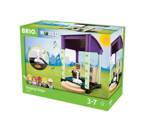 BRIO Singing Stage Scenery Set with Sound (6 Piece Set)