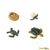 Painted Educational Replica Safariology Set - Life Cycle of a Green Sea Turtle