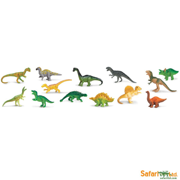Safari Ltd TOOBS Painted Miniature Figure, 13 Pieces - Sue and Her Friends