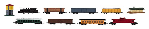 Safari Ltd TOOBS Painted Miniature Figure, 10 Pieces - Steam Train