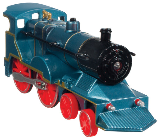 Blue with Red Wheels Pull Back Die-Cast Train with Light & Sound Toysmith #7045