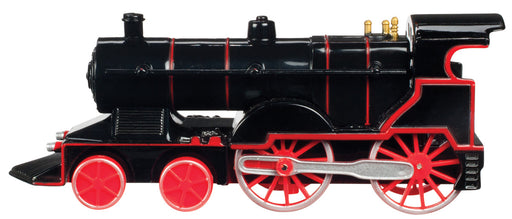 Black with Red Wheels Pull Back Die-Cast Train with Light & Sound Toysmith #7045