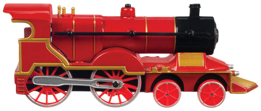 Red with Red Wheels Pull Back Die-Cast Train with Light & Sound Toysmith #7045