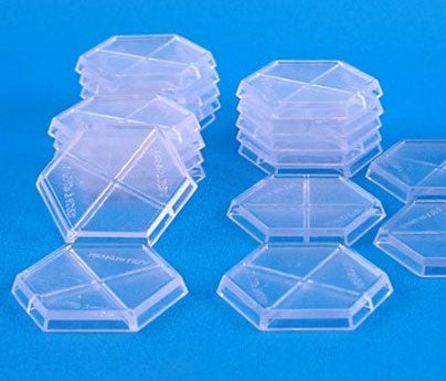 Reaper Miniatures 30mm Clear Plastic Hex Bases (20) #72312 CAV Strike Operations