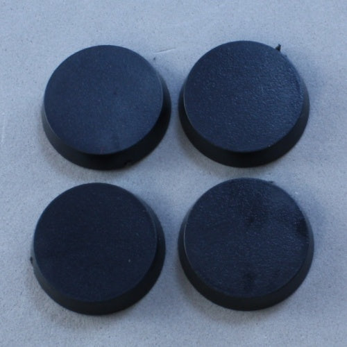 Reaper Miniatures 20mm Round Plastic Flat Top Base (25) RPG Accessory #74041