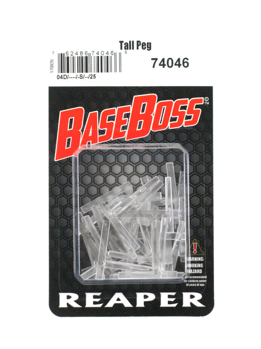 Reaper Miniatures Transparent Tall Flight Pegs (25) RPG Accessory #74046