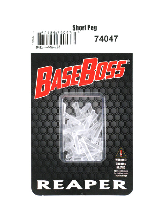 Reaper Miniatures Transparent Short Hover Pegs (25) RPG Accessory #74047