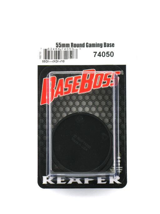Reaper Miniatures 55mm Round Gaming Base (10) #74050 Accessory