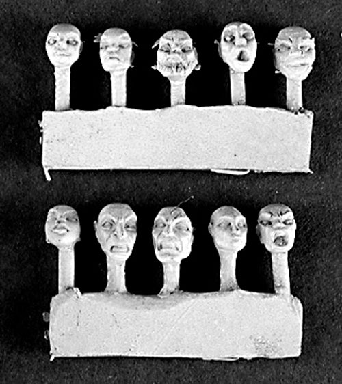 Reaper Miniatures Starter Heads 10 #75010 Sculpting Accessories and conversions