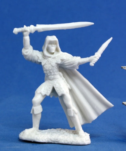 Reaper Miniatures Danar, Male Assassin #77030 Bones Unpainted Plastic Figure