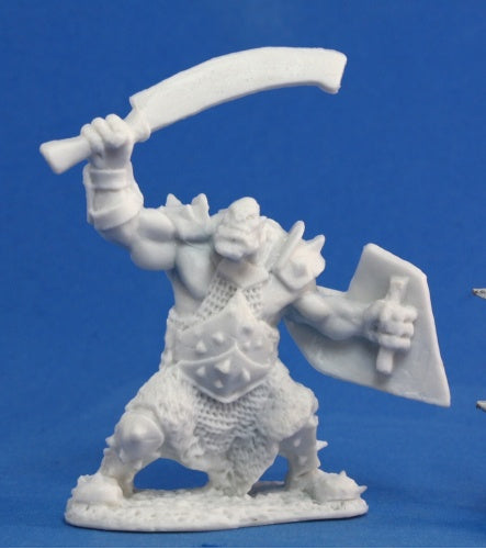 Reaper Miniatures Orc Marauder (Sword and Shield) #77042 Bones Unpainted Figure
