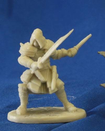 Reaper Miniatures Drago Voss Male Assassin 77093 Bones Unpainted RPG Mini Figure