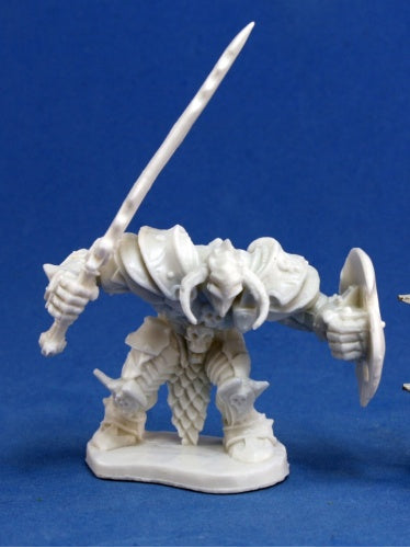 Reaper Miniatures Ragnaros, Evil Warrior #77150 Bones D&D RPG Mini Figure