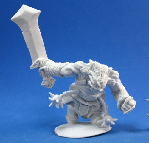 Reaper Miniatures Fire Giant Warrior #77178 Bones Unpainted Plastic Mini Figure