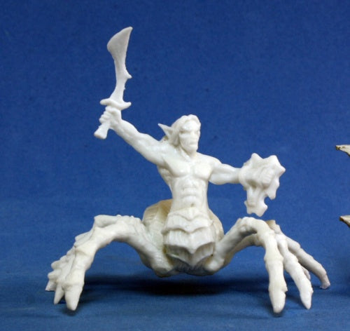 Reaper Miniatures Arachnid Warrior #77181 Bones Unpainted Plastic Mini Figure
